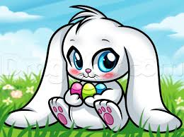 bunny easter how to draw a chibi easter bunny step by step easter seasonal