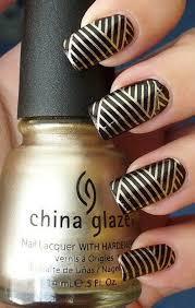 black nail tips easy way to be elegant golden black nail art