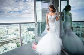 tulle wedding dress gorgeous the shoulder white illusion lace mermaid tulle