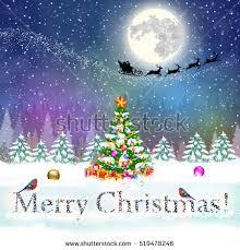 meryy happy new year vintage stock vector 519478246