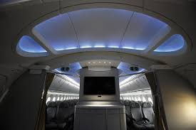 Boeing 787 Dreamliner Interior Interior Tour Of The Boeing 787 World Chinadaily Com Cn