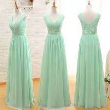 v neck bridesmaid dress with ruching detail floor length chiffon