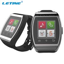 smart android letine unique design smart bluetooth watches support ios android