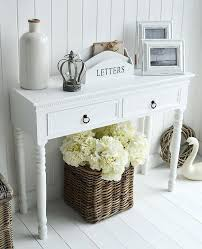White Hallway Console Table White Hall Console Table U2013 Launchwith Me