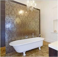 Feature Wall Bathroom Ideas Damask Wall Tile Bathroom Shower Search Interior Ideas
