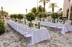 fisher island wedding flowers design by guerdy something navy s fisher