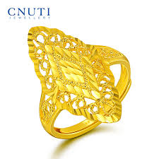 golden rings online images Usd 634 94 cnuti gold ring female 999 gold gold ring hollow live jpg