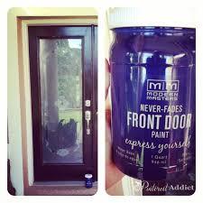 Front Door Painted by Modern Masters Front Door Paint Pinterest Addict