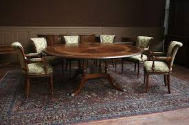 Round Dining Room Set High End Mahogany Dining Room Table Base