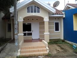 eterior house color combinations with brown simple model design