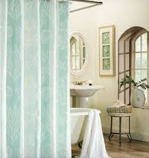 seashell fabric shower curtain foter