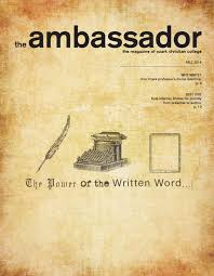 fall 2014 ambassador magazine by ozark christian college issuu