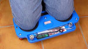 attrezzature per piastrellisti inginocchiatoio con ruote foxcar