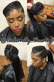 17 Best Ideas About Black by Black Hairstyles Ponytail Fade Haircut
