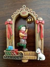 1977 hallmark twirl about bellringer ornament in box 8 99