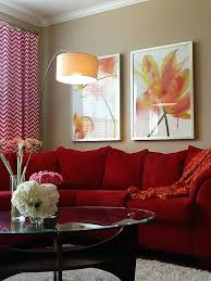 living room red couch red sofas urbancreatives