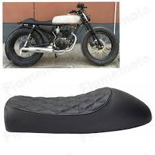 black honda motorcycle aliexpress com buy motorcycle cafe racer vintage saddle hump