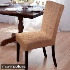 Dining Room Chairs Seat Covers Chair Covers Slipcovers For Less Overstock