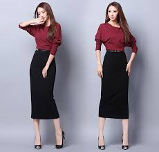 women fashion bodycon work dress batwing sleeve dress for office