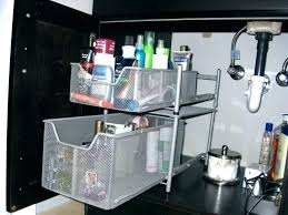 under kitchen sink storage solutions sink storage kitchen sink storage solutions storage under sink