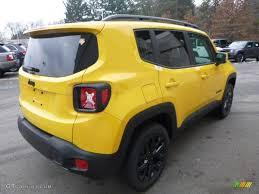 jeep yellow 2017 2017 solar yellow jeep renegade altitude 4x4 117705684 photo 5