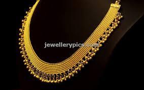 kasava mala designs by bhima jewellers jewellery designs