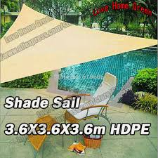 Canopy Triangle Sun Shade by Online Get Cheap Triangular Shade Sails Aliexpress Com Alibaba