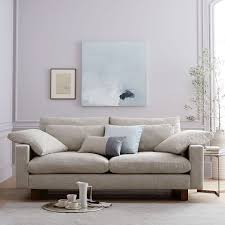 west elm harmony sofa reviews harmony down filled sofa 76 west elm