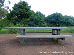 kirby built picnic tables marin headlands national park wheelchair tips wheelchairtraveling com
