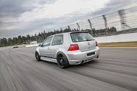 volkswagen golf modified hperformance transforms a golf 4 r32 into a serious powerhouse