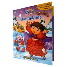 dora the explorer dora the explorer merry christmas my busy books u2013 daves deals