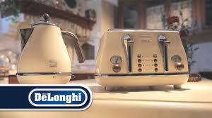 Delonghi Icona Toaster Green Icona Vintage Breakfast Collection Pastel Cream By De U0027longhi