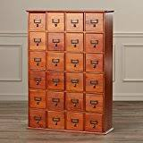 library file media cabinet amazon com leslie dame cd 456c solid oak library card file media