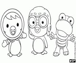 pororo penguin coloring pages printable games