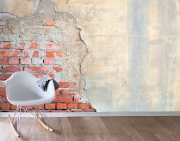 exposed brick exposed brick wall mural your decal shop nz designer wall art