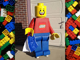 adult legos lego minifigure costume made to order life size freestanding
