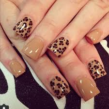 Nail Designs Cheetah Cheetah Nail Designs Popular Print Nail Designs At