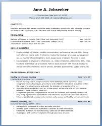New Nurse Resume Examples by Download Resume Samples For Nursing Students