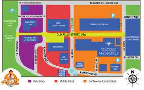 Niagara Falls Canada Map by Niagara Falls Blues Festival Official Site