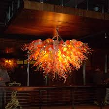 American Made Chandeliers Hand Crafted Park At 14th Nightclub Two Custom Made Chandeliers