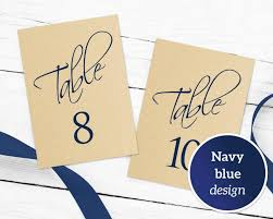 what size are table number cards table numbers printable 1 40 template in two sizes wedding table