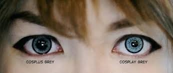 light blue cosplay contacts contacts for light eyes contact lenses may be faintly tinted green