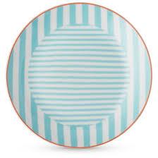 cheeky porter porcelain 16pc dinnerware set blue coral target