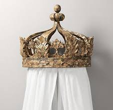 Gold Canopy Bed Crown