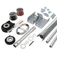 resource industries garage door e900 universal one piece garage door hardware kit e900 r the