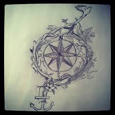 compass bird vines drawing sketch danielle morneau flickr