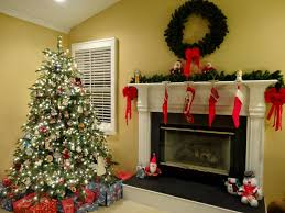holiday home tour our christmas tree u0026 fireplace mantle a