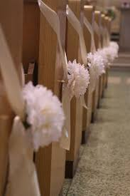 church pew decorations decorating tips guide to wedding bows pew bows made easy