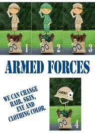 army marines airforce going away welcome home party centerpiece