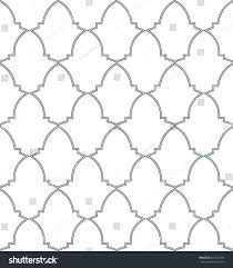 Moorish Design by Seamless Pattern Moorish Trellis Inspired By Stock Vector